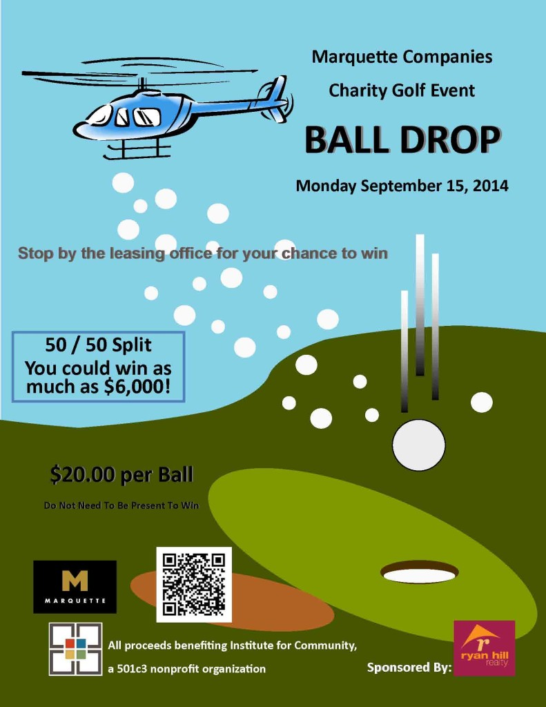 2014 Charity Golf Event Ball Drop